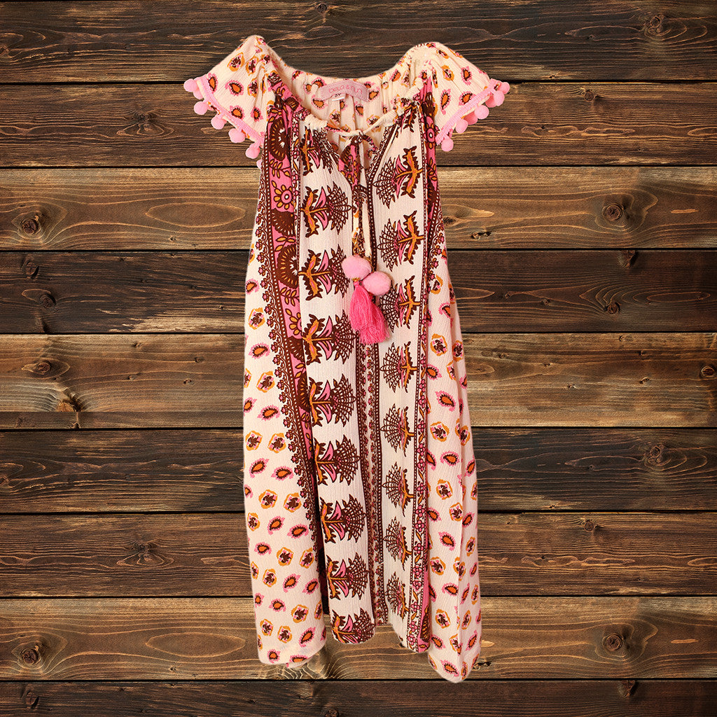 BELA & NUNI - Gypsy Paisley Kringkel Dress