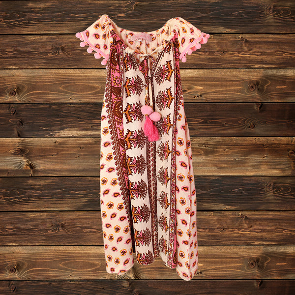 ALL NEW! - BELA & NUNI - Gypsy Paisley Kringkel Dress