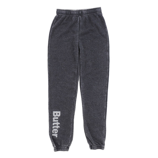 BUTTER -  Burnout Fleece Varsity Pant