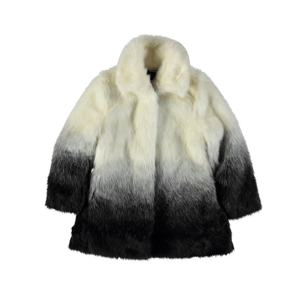 LE CHIC - Ombre Fur Coat