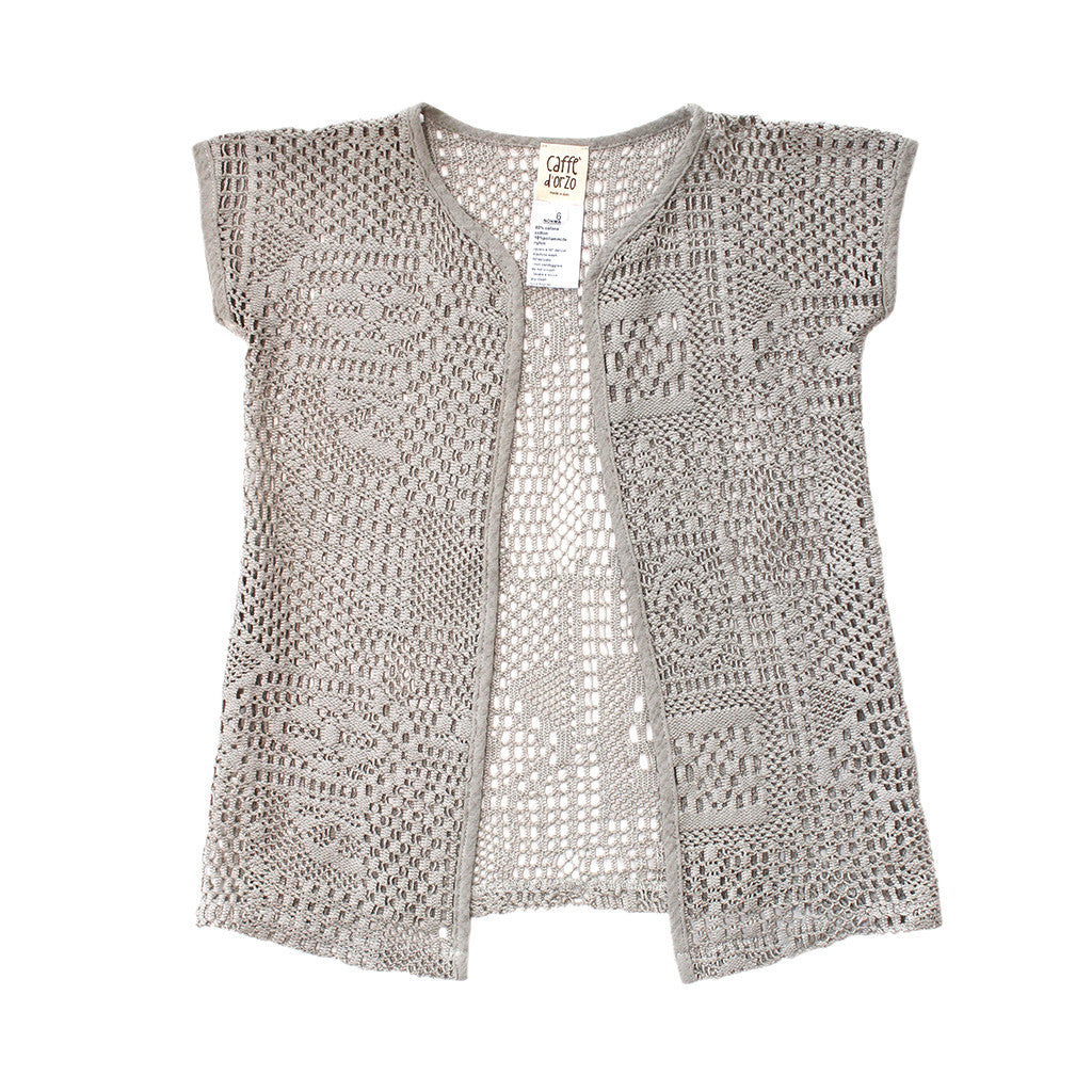 CAFFE D'ORZO - Lace Crochet Jacket