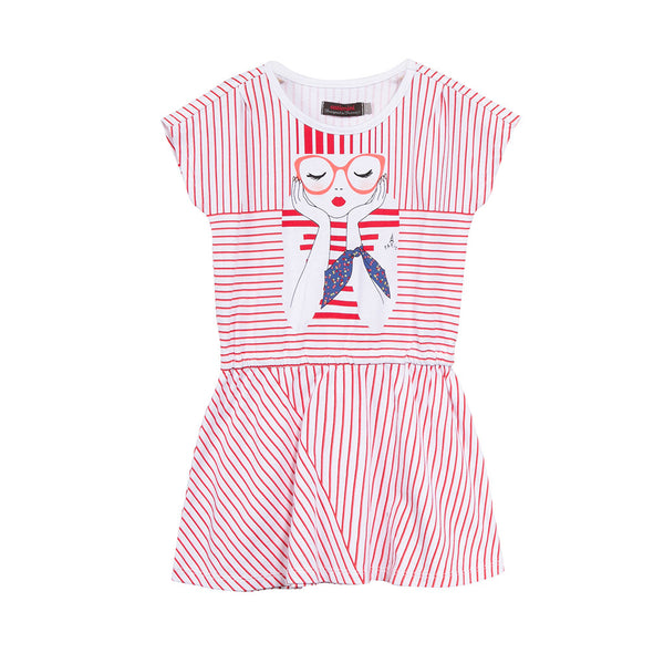 CATIMINI - City Sailor Striped Dress