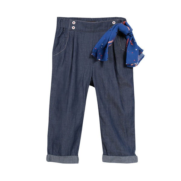 CATIMINI - Pantalon Trousers with Bandana