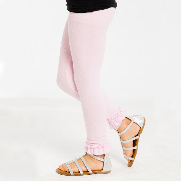 CHASER KIDS - Love Knit Cozy Legging w/ Ruffle