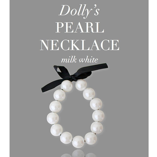 DOLLY BY LE PETIT TOM - Giant Pearl Necklace
