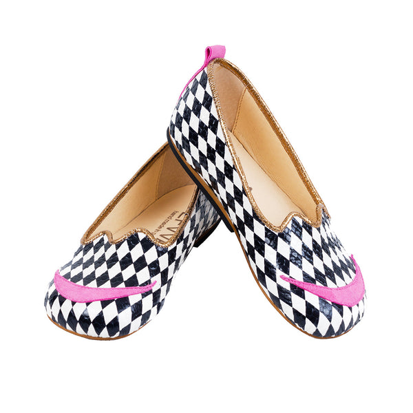 "EFVVA - ""Down the Rabbit Hole"" - Cheshire Cat Shoes"