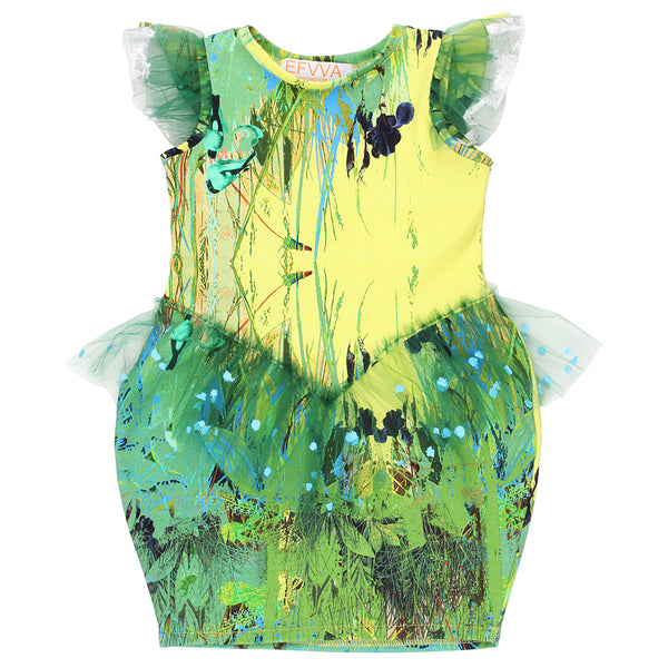 "EFVVA - ""Biophilia"" - Butterfly Dress"