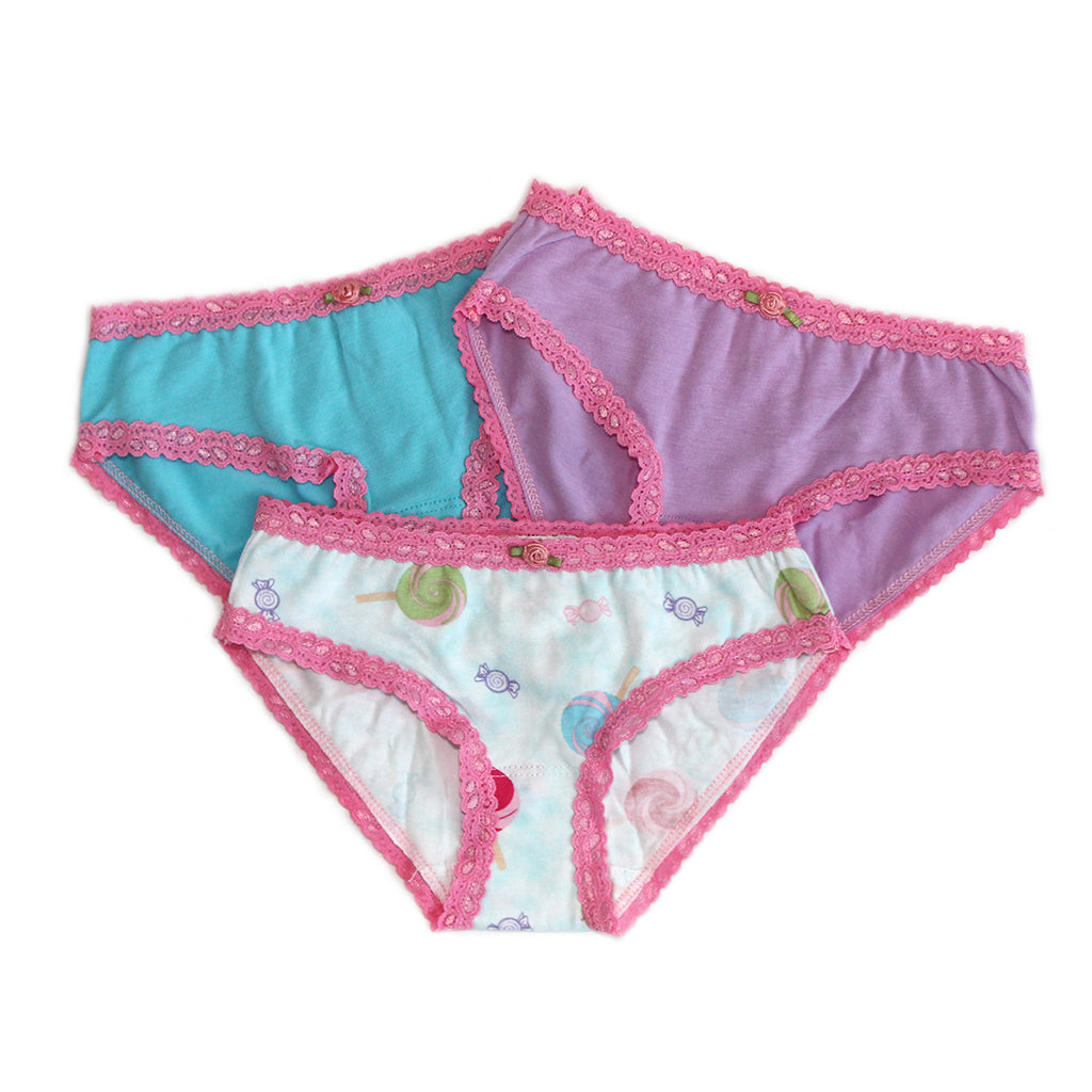 "ESME - ""Lollipop"" Panties 3 Pack"