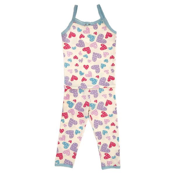 "ESME - ""Confetti Hearts"" Camisole & Leggings Set"