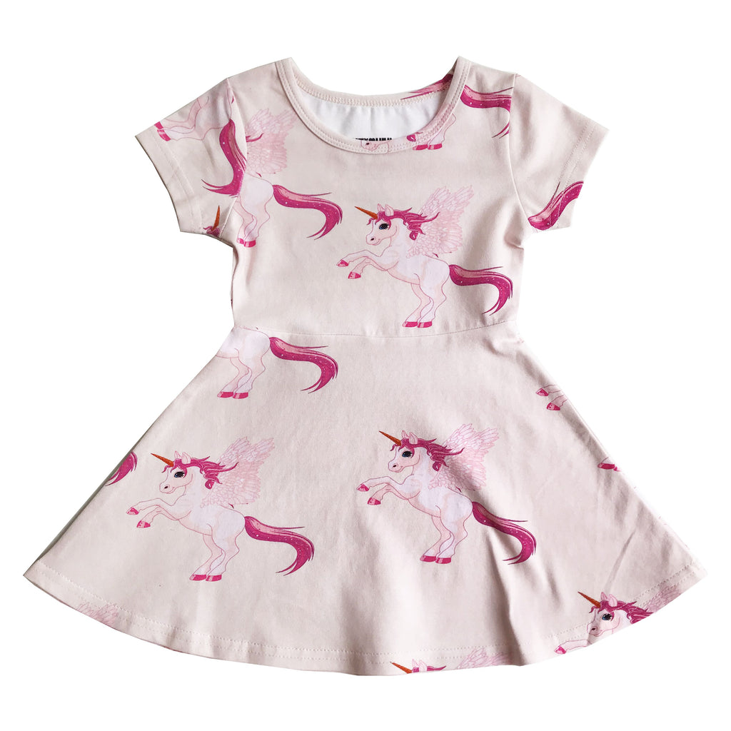 "ROMEY LOVES LULU - ""Pink Pegasus"" Skater Dress"