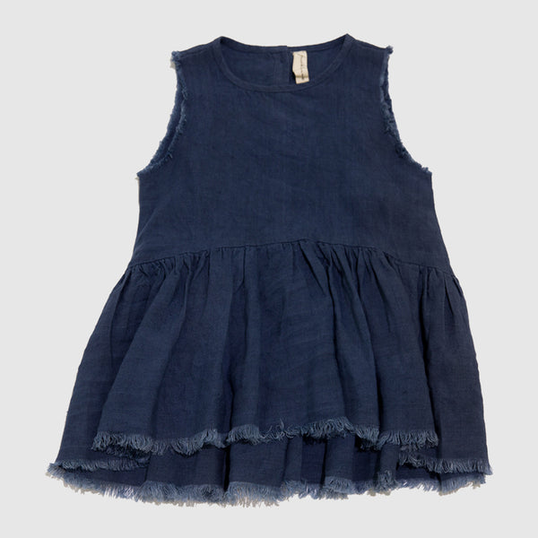 FEATHER DRUM - Eliza Sleeveless Smock