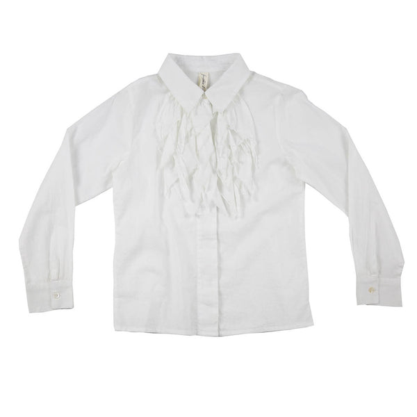 FEATHER DRUM - Elodie Ruffle Blouse