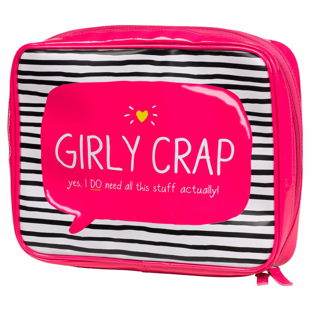 "HAPPY JACKSON LONDON - ""Girly Crap"" Toiletries Bag"