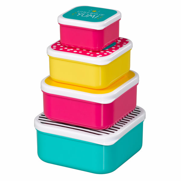 "HAPPY JACKSON LONDON - ""Healthy Snacks"" Nesting Snack Boxes"