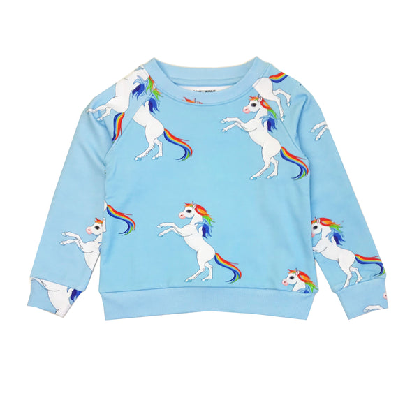 "ROMEY LOVES LULU - ""Rainbow Horses"" Sweatshirt"