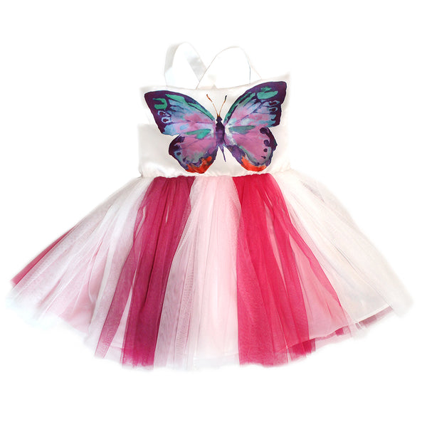 HALABALOO -  Butterfly Bodice Dress