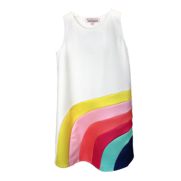 HALABALOO - Rainbow A-Line Dress