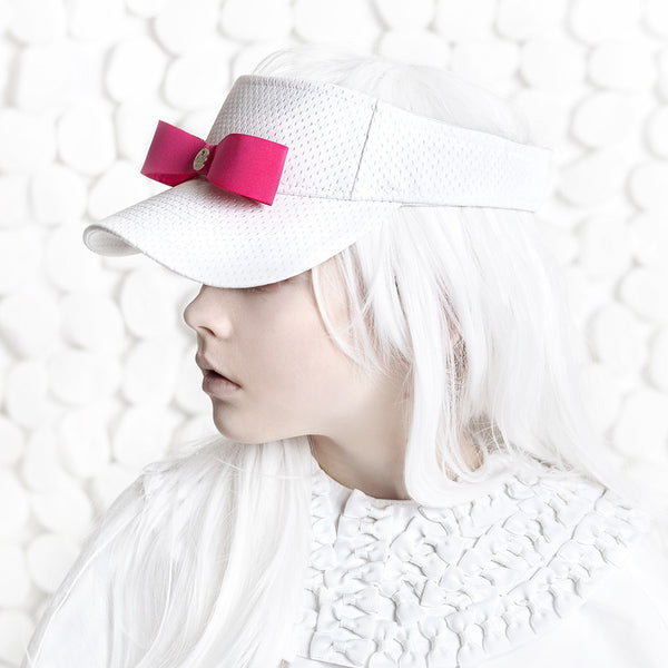 HALO LUXE - Cloud Visor in Pink