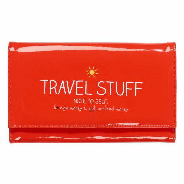 "HAPPY JACKSON LONDON - ""Travel Stuff"" Document Holder"