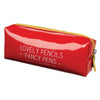 "HAPPY JACKSON LONDON - ""Lovely Pencils Fancy Pens"" Pencil Case"