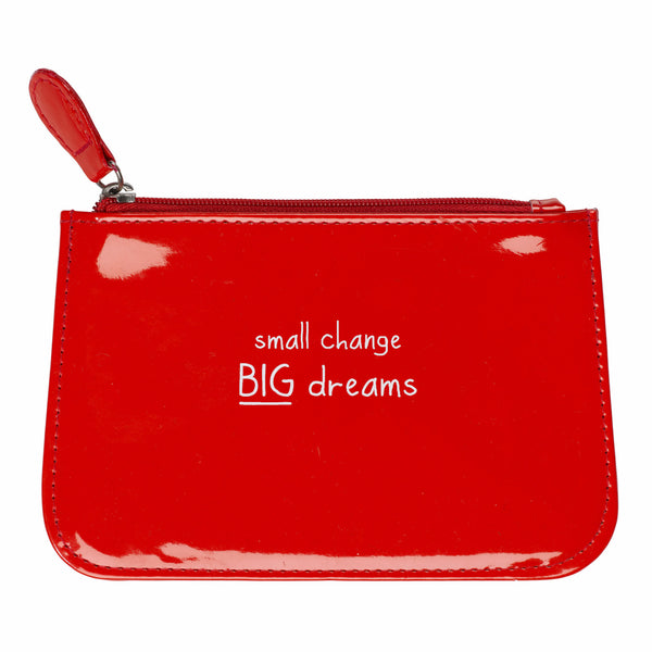 "HAPPY JACKSON LONDON - ""Small Change Big Dreams"" Change Purse"