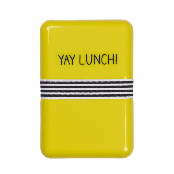 "HAPPY JACKSON LONDON - ""Yay Lunch"" Lunch Box"