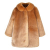 HUCKLEBONES - Faux Fur Coat