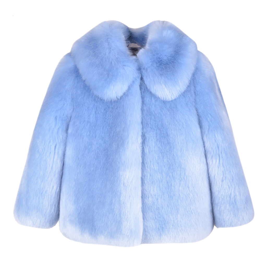 HUCKLEBONES - Faux Fur Jacket