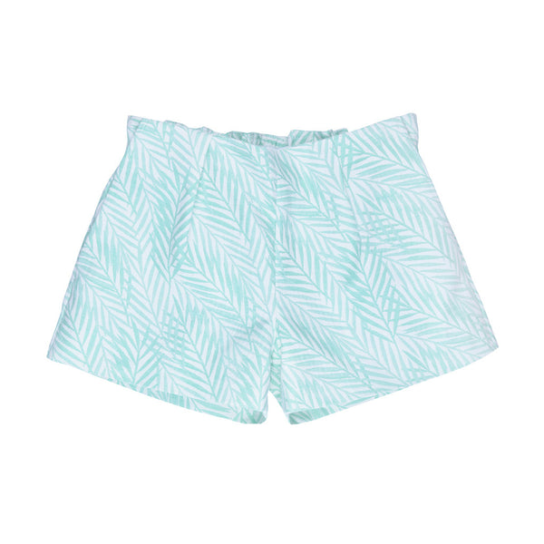HUCKLEBONES - Palm Jacquard Shorts