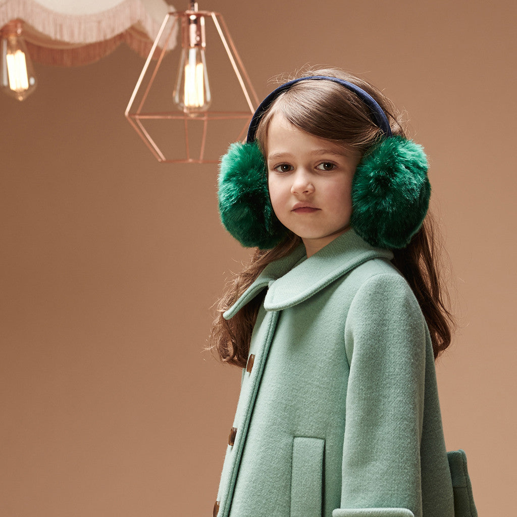 HUCKLEBONES - Faux Fur Ear Muffs