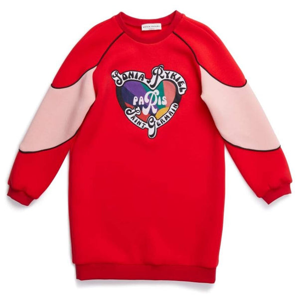 SONIA RYKIEL ENFANT - Ichiro Neoprene Saint Germaine Sweatshirt Dress