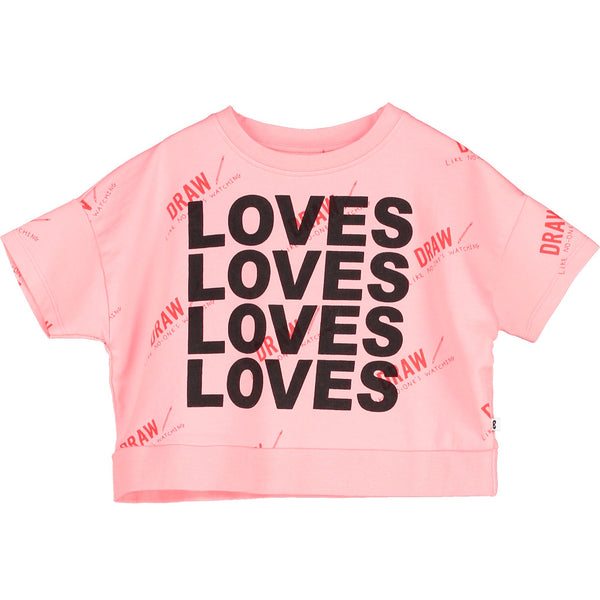 BEAU LOVES - Cropped Sweatshirt