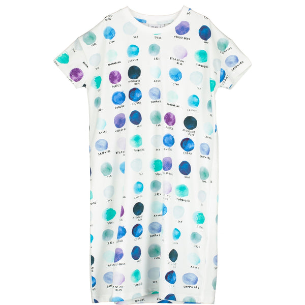 BEAU LOVES - Paint Pallet Dots T-Shirt Dress