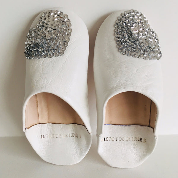 "LE TOIT DE LA LUNE - ""Dragee"" Leather Slippers"