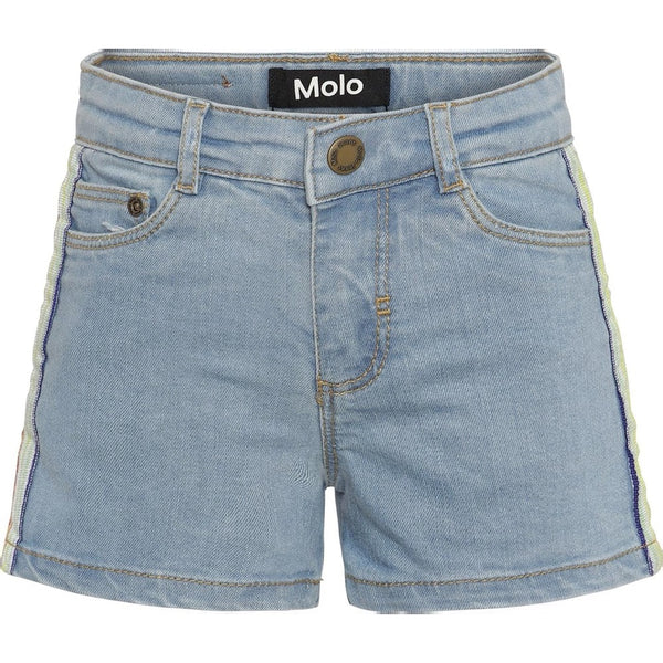 MOLO - Angelina Shorts - Light Blue Denim
