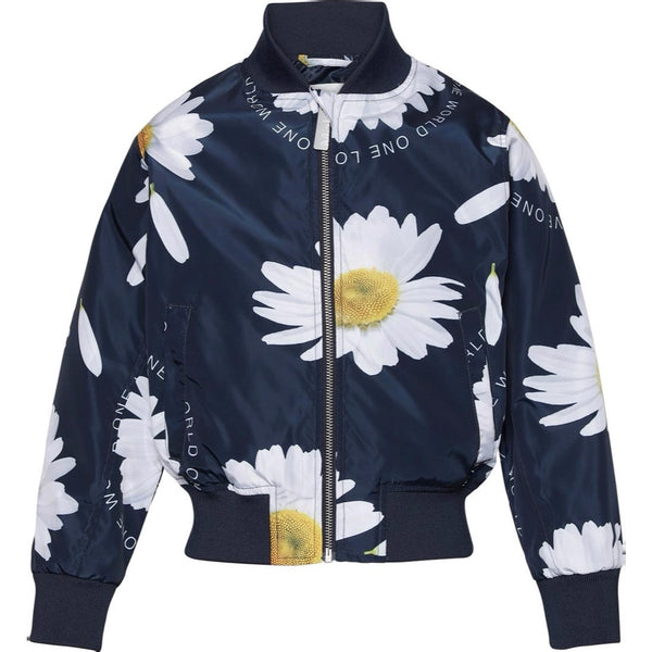 MOLO - Haliva Jacket - Giant Navy Daisy