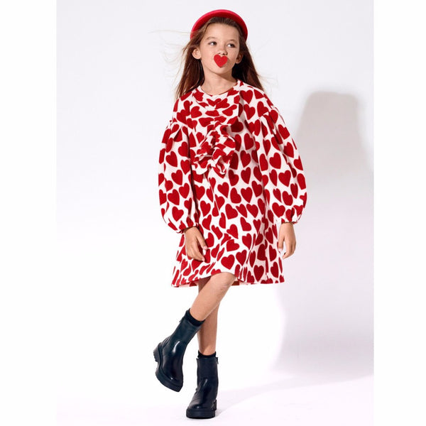 AIRFISH -  Hearts Fleece Dress