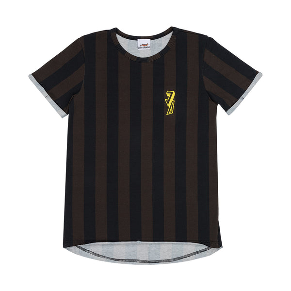 "JELLY ALLIGATOR - ""Imperial Stripes"" Short Sleeve Tee"