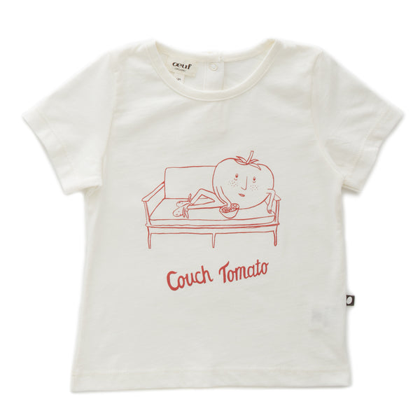 Oeuf - Couch Tomato T-Shirt