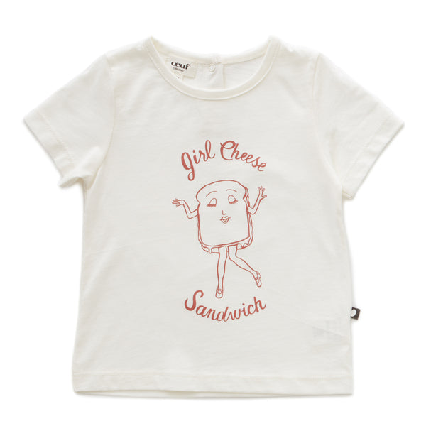 Oeuf - Girl Cheese T-Shirt