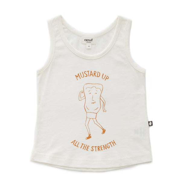 Oeuf - Mustard Up Tank Top