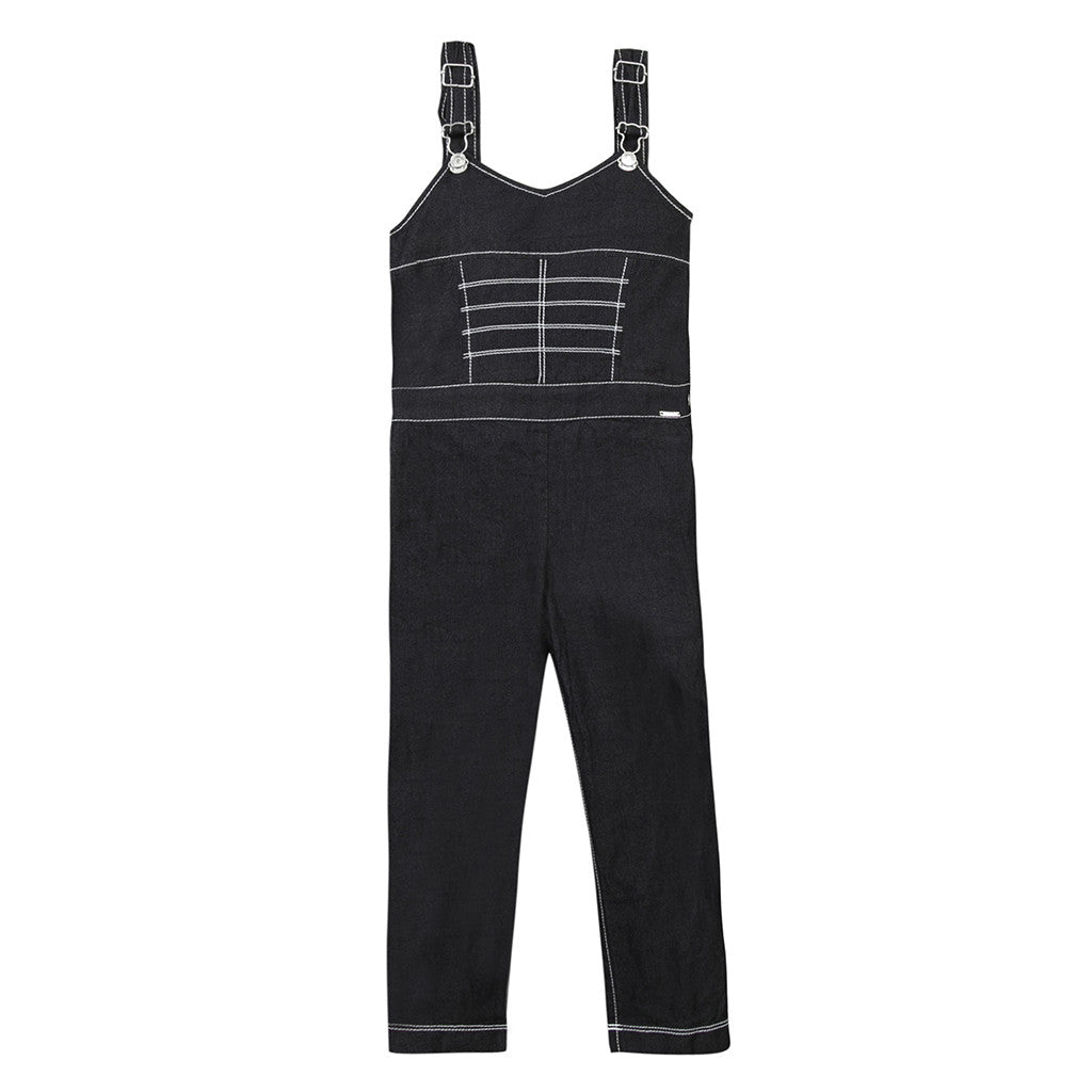 JUNIOR GAULTIER - Venus Light Denim Dungaree