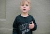 "KIRA KIDS - ""Love Wins"" Raglan Sweatshirt"