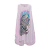 "LAUREN MOSHI KIDS - Elsa ""Color Zebra"" Tank Dress w/ Pockets"