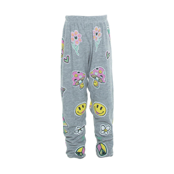 "LAUREN MOSHI KIDS - Mouse ""Happy Daze"" Sweatpants"