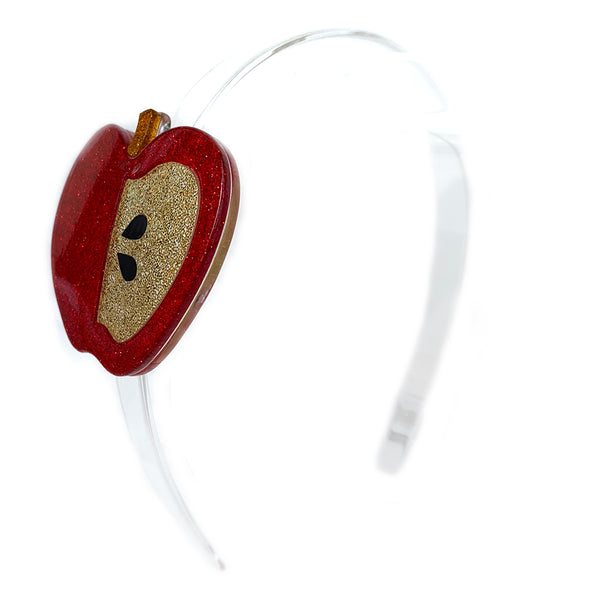 "LILIES & ROSES NY - ""Apple"" Acrylic Headband"