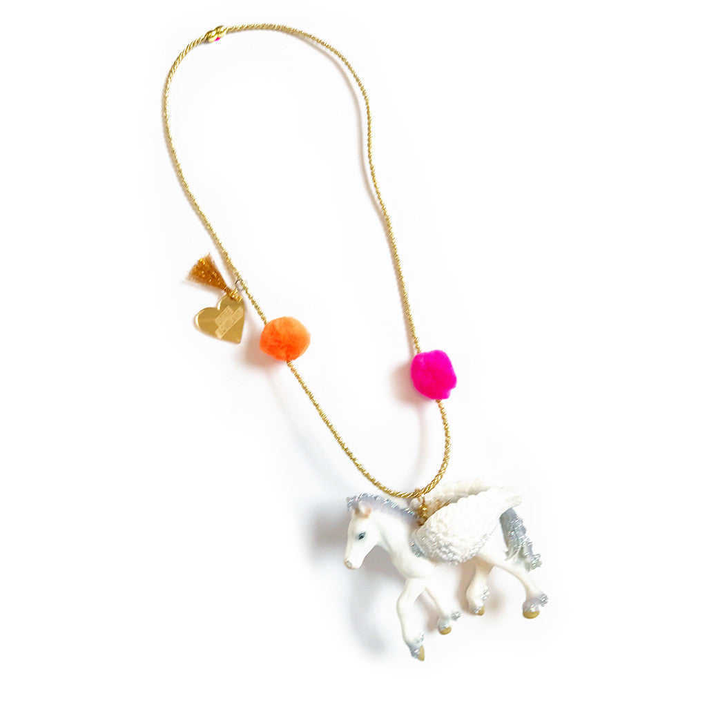 LITTLE LOVELAND - Enchanted Creatures: Pegasus Necklace