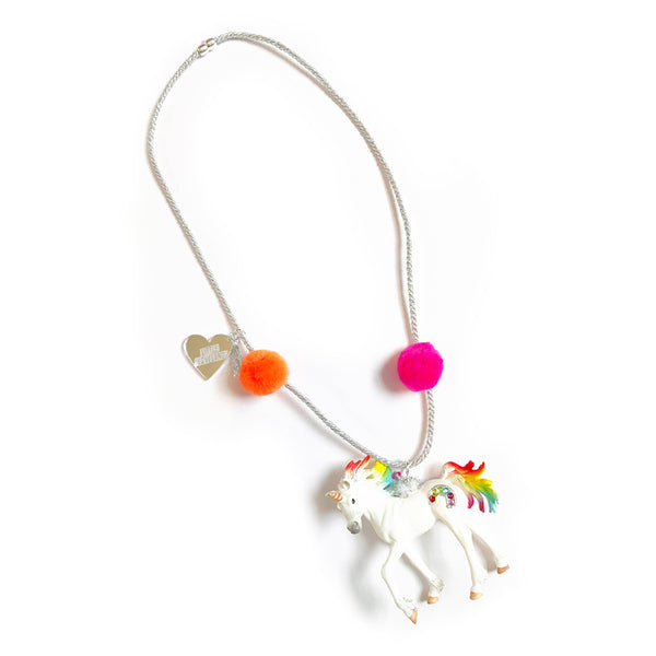 LITTLE LOVELAND - Enchanted Creatures: Rainbow Unicorn Necklace