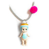 LITTLE LOVELAND - Laduree Limited Edition: Macaron Jardin Bleu Doll Necklace