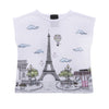 LOVE MADE LOVE - Paris Eiffel Tower T-Shirt